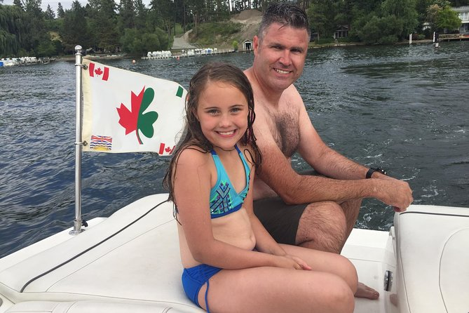 Kelowna Private Boat Charter: Seven-Hour Fun in the Sun, Kelowna y Okanagan Valley, CANADA