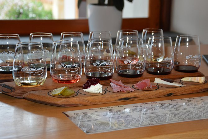 A wine and pairing by our winemaker Troy Kalleske. Troy has won mulitple awards as a winemaker and has selected six of his favourite wines paired to local Barossa produce
