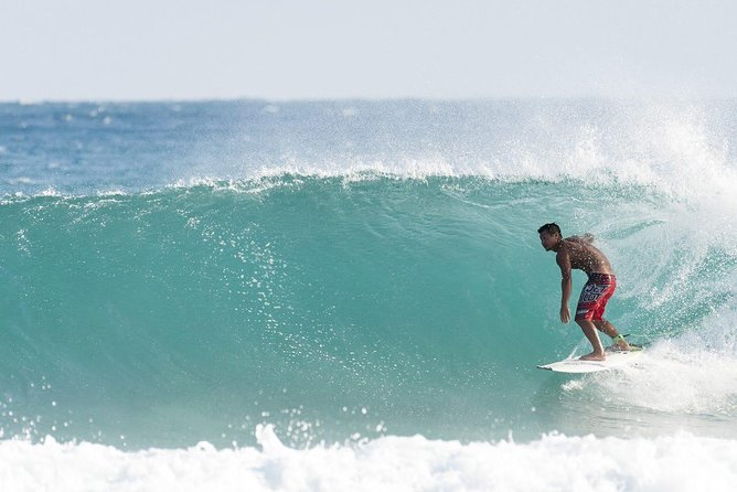 """【NOTE】<br><br>This plan includes surfing activity for beginners. If you wish to select a guide to <br><br> take you to surfing spots (for over intermediate surfers), please select another booking page """" for inermediate"""". <br><br>【OUTLINE】<br><br>Tanegashima Island, where various landforms facing the sea create a rich variety of waves, is a sacred place for surfing and continues to be loved by surfers. In this plan, you can choose from a half-day surfing school or one-day surfing school and stay overnight with breakfast. In the half-day surfing school with professional surfer staff, even beginners can get up on the board in just two hours and experience the waves. Enjoy an unforgettable time on Tanegashima Island with Zeus House.<br><br>【HIGHLIGHTS】<br><br> There are many attractive spots on the island such as caves, subtropical forests, and The Tanegashima Space Center. <br><br> In the evening, you can enjoy BBQ (optional) on the roof terrace and looking stars in cushions with a telescope. (no charges)"""