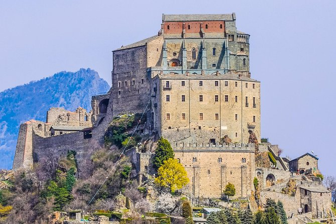 Join this exciting guided tour to visit the Sacra di San Michele, one of the most beautiful Medieval Abbeys in Europe.
