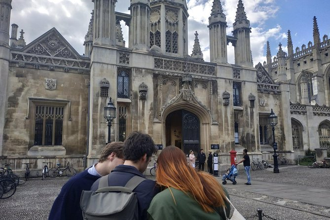 Embark on a quest around Cambridge by solving clues to find a mysterious book before the King's army does, all on your smartphone. Unlock new stories as you discover on your own the Corpus Clock, King's College, Trinity Hall, and more.<br><br>+ Visit the top Cambridge colleges<br>+ Solve riddles on your phone and discover hidden gems<br>+ Marvel at the Round Church<br><br>You will play the role of a person who lives in medieval Britain, under the rule of the Tudors. As a student at Cambridge, you joined a secret society, which fights to preserve prohibited books deemed revolutionary by the King. <br><br>Each riddle you solve will lead you from one place to another, giving you exact directions, so you won't need a map, a GPS or a guide. When you solve it and guess the answer, the secret story of that place is unlocked.<br><br>P.S.: After you buy the tour, you will receive an access code that you can to unlock this quest inside the Questo app.