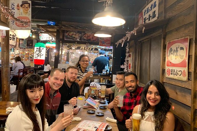 -Hopping Hidden Local Bars & Taste Local Food at Namba Area-<br>To start this All-in-one bar hopping tour that Drinks & Foods are all included, the guide will take you around Hozenji Yokocho Alley, near Dotonbori. This narrow alley reminds people of the historic old days of Osaka. We'll visit the first Izakaya bar that serves various types of Osaka's traditional food such as Kushikatsu (fried skewers).<br><br>-Pub Crawl through the Indoor Food Alley featuring Osaka's Foods & Drinks-<br>We are going to one of the most unique nightlife izakaya food alleys. A collection of 20 kinds of Izakaya bars filled daily full of locals grabbing a bite to eat at night. You can get a Taste of Osaka Drinking Culture & get to Know Osaka People.<br><br>Magical Trip is a local tour operator with the TripAdvisor certificate of excellence that offers various types of small-group tours throughout Japan! Check out our Trip Advisor Page for more tours and our reviews!<br>