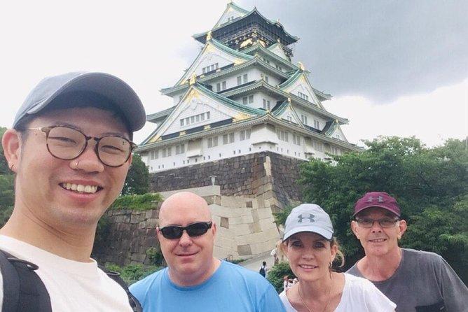 Osaka Bike Tour to the Neighborhood of Osaka Castle, Osaka, JAPON
