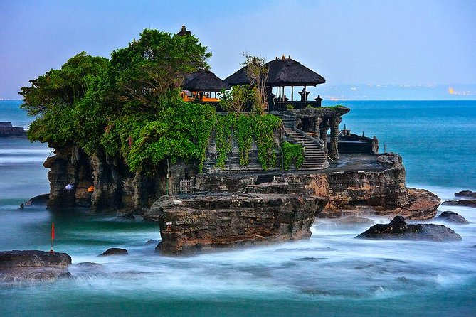 """""""TANAH LOT"""", which has a breathtaking natural splendor, it stands on solid sea rock asalso generally known as Bali temple in the sea& a famous cultural masterpiece for photography. <br><br>""""BATU BOLONG"""" a rock formation with a 'hollow' overpass linking to the mainland. <br><br>UNESCO SITE of 600 Ha Subak Irrigation System of """"JATILUWIH GREEN LAND"""" offers to you for a memorable Journey through the thick tropical forest, untouched beauty and be amazed by the beautiful land, cultivated creatively and actively by the local community. <br><br>Amazing View of The Twin Lake (Buyan and Tamblingan). <br><br>""""ULUN DANU BERATAN TEMPLE""""is the most photographed tourist attractions in Bali andtypically known as Bali temple by the lake and only 15minutes away from """"HANDARA ICONIC GATE & WANAGIRI HIDDEN HILL"""".<br><br>""""BANYUMALA TWIN WATERFALLS"""" Beautiful crystal clear & serene Waterfalls with a really calm lagoon, suitable for swimming."""