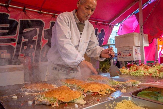 Osaka Private 3 Hours Food Tour: Street Food In Namba District, Osaka, JAPON