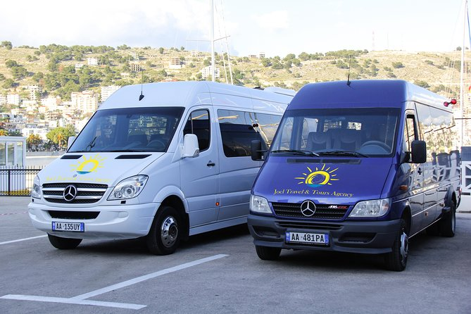 *Reliable 24 hours daily service <br>*Comfortable modern air-conditioned cars<br>*Personalized pick up and drop off <br>*Transfer can be customized according to the customer request (which means the itinerary can be changed, we can pass through the Albanian Riviera or any other route requested by the traveler; as well as the final destination can be chosen by the customer.) There is an extra charge for any changes to the itinerary.<br>*We will leave you directly to Tirana International Airport or any other Port requested.<br>