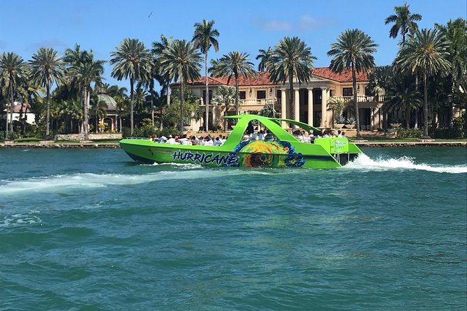 Extreme Sightseeing Hurricane Jet Boat Tour of Miami, Miami, FL, UNITED STATES