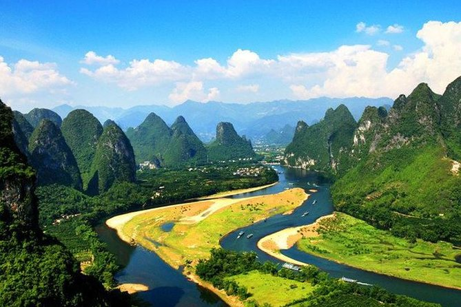 Li River Cruise with English guide/Hotel pick up to pier, Guilin, CHINA