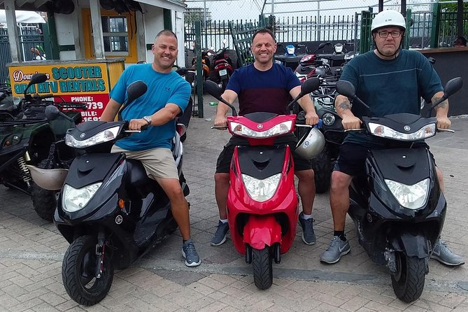 Virgo Scooter Rental brings forth an opportunity for its customers to see the beautiful island of Nassau on their own time. Being located downtown, customers are able to easily maneuver throughout the streets of Nassau and with the accessibility of our Scooters anything is possible. With everything being at your convenience there are a variety of deals available, along with a separate office used primarily for late returns. This product is available for rent for those with a valid drivers license & 21 years old.