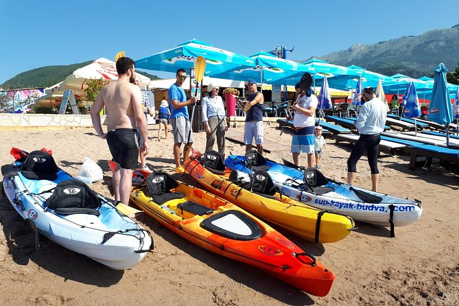 Rent a Kayak or SUP and admire the Adriatic coast with its beautiful bays, caves, visit the island of St. Nicholas. In the kit you will get all the necessary equipment. Select a double or single kayak, or SUP. The instructor will give you all the safety recommendations and the best routes.