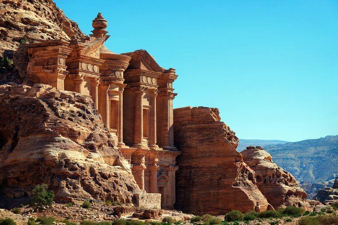 The Petra and Wadi Rum tour from Aqaba is available on daily basis , providing the best 3 day experience visiting Jordan's highlights. The 'forgotten city of Petra' - 1 of the 7 Wonders of the World,unrevealed worldwide.<br>Wadi Rum is the unique reddish desert that has been termed the 'valley of the moon'. <br>Petra and Wadi Rum tour from Aqaba , 2 sites with an overnight in Petra and in a Bedouin camp in Wadi Rum. <br>Fully guided and including all transportation, guiding, entrance fees..