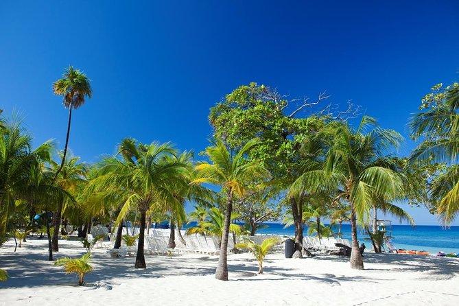 Zip-lines & Beach, Roatan, HONDURAS