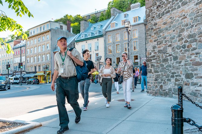 Combo Historical and Food Tour of the Old Quebec City, Quebec, CANADA