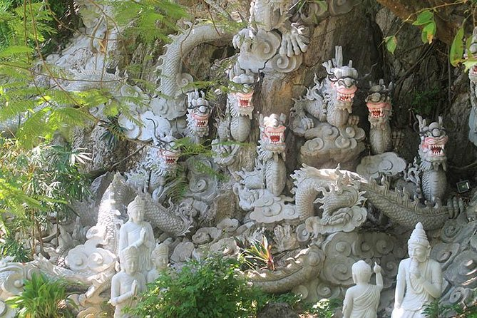 Marble Mountain & Linh Ung Pagoda Half Day Tour From Da Nang City, Da Nang, Vietnam