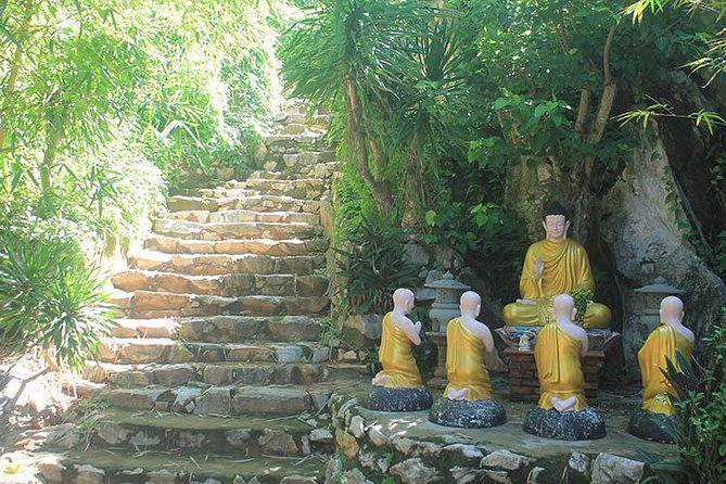 Marble Mountain & Linh Ung Pagoda Half Day Tour From Da Nang City, Da Nang, VIETNAME