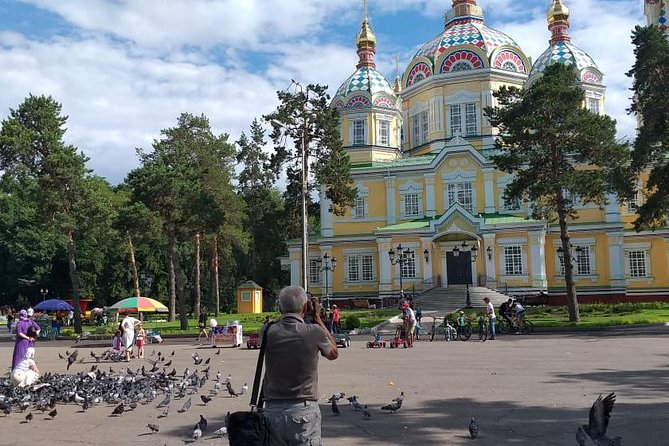 During this 3-hour tour you will visit the most interesting places of the southern capital of Kazakhstan! You will feel the spirit of the city in Almaty Museum with its interactive elements, admire the beauty of the Zenkov Cathedral in Park of 28 Panfilov Guardsmen, and enjoy the traditional spirit of trade at the Green Bazaar!