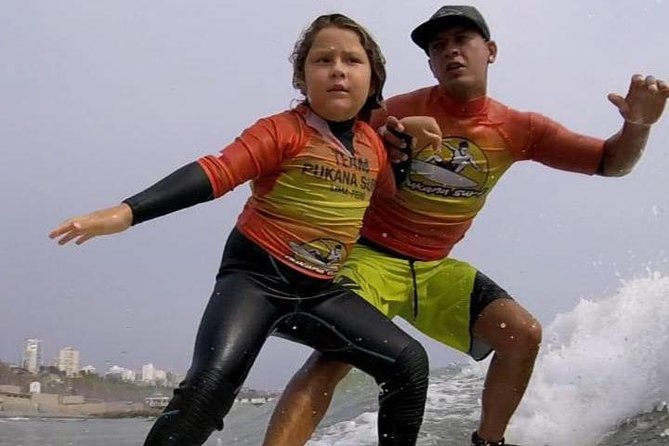 Surf Classes for Beginners (Children and Adults) in Lima, Perú, Lima, PERU