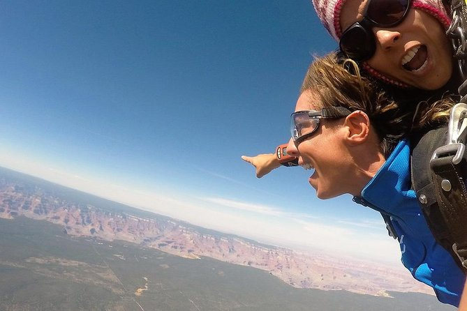 Experience the Grand Canyon like never before with a tandem skydive through the South Rim. Tandem skydiving is a thrilling way to experience one of the seven natural wonders of the world as well as complete 2 bucket list items at the one time! <br><br>