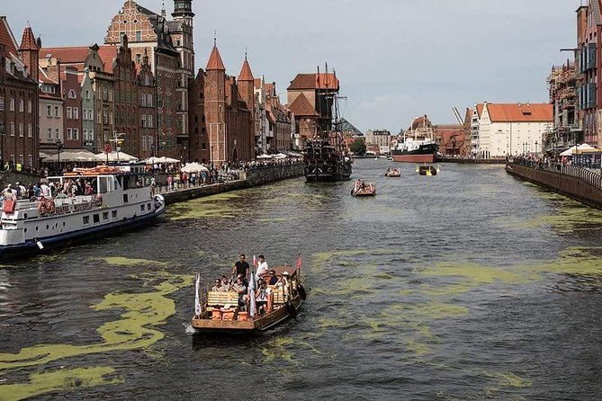 Gdansk Guided City Cruise on Historical Polish Boat, Gdansk, POLONIA