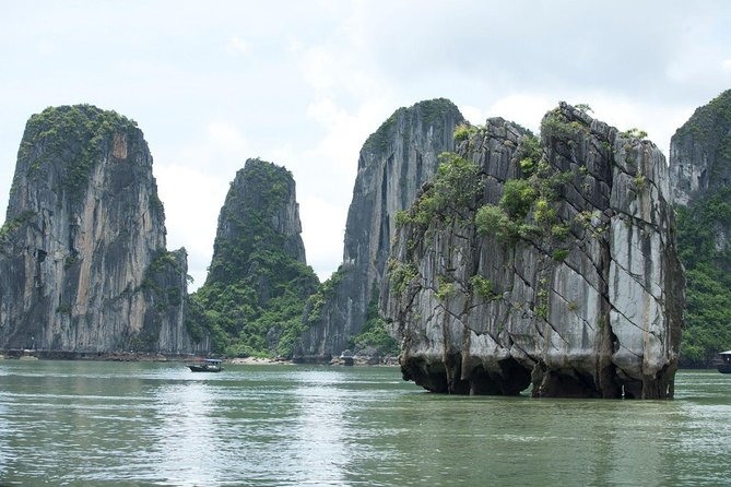 Half Day Explore Halong Bay With Lunch, Sung Sot Cave, Titop Island and Kayaking, Halong Bay, VIETNAM