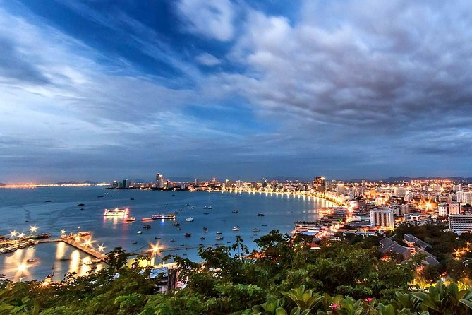 Enjoy your private day trip (Family friendly) with your English speaking tour guide while exploring the beauty of Pattaya by visiting the Big Buddha Hill or Wat Phra Yai you can see the biggest Buddha image of Chonburi province, visible from far away approaching the hill. Then Visit Pattaya Viewpoint (Khao Pattaya View Point) on Pratumnak Hill is the best viewpoint in the region and the place to visit day or night to get that classic shot of Pattaya's sweeping, crescent bay. At the end of the tour, we will visit the biggest Gems Museum & Gallery in Pattaya.