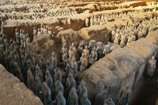 MORE PHOTOS, Xian Group Tour to Terracotta Warriors and Banpo Museum