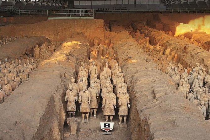 Xian Group Tour to Terracotta Warriors and Banpo Museum, Sian, CHINA