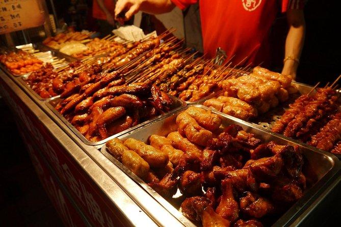 Recorrido gastronómico en Taipei: Mercado nocturno de Ningxia, Taipei, TAIWAN