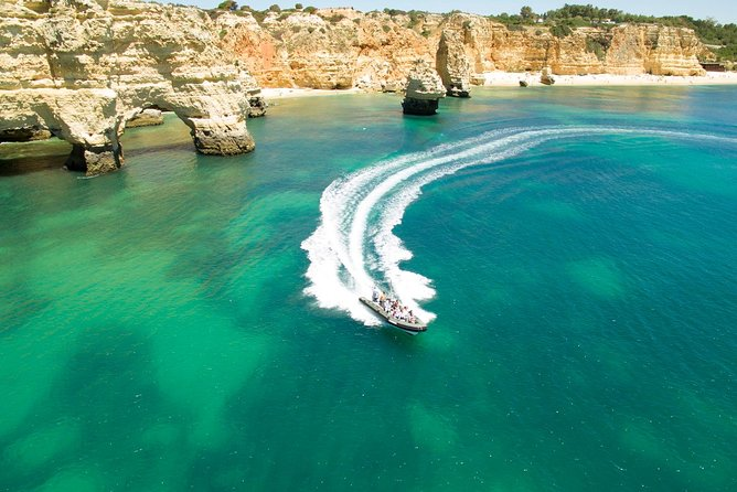 Get on board of one of our boats to explore the unique line coast that spreads between the city of Portimao and beautiful Praia da Marinha. It's famous from its rock formations, hidden beaches and misterious caves. We make the difference by entering most of the caves, with the special focus on Benagil Cave considered one of ten wonders of the world. The tour is operated by boats that are small enough to enter the caves. This is the factor that makes another significant difference. You can't miss this this tour, which is definitely a must-see for anyone visiting southern Portugal.