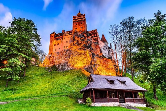 This is a private tour from Bucharest to Transylvania on a very picturesque route through the Carpathian Mountains allowing you to discover:<br><br>- Peles Castle - the most beautiful Neo-Renaissance Castle în Romanian. <br><br>- Bran (Dracula's) Castle - a national monument and landmark in Romania. <br><br>- Brasov city - the core of the historical Country of Transylvania.