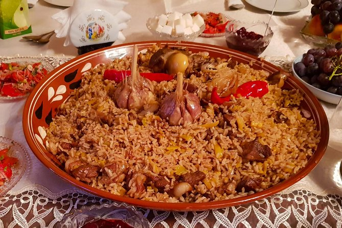 One does not simply come to Osh and leave without eating plov!<br><br>But what if I told you that you can expand your plov experience by cooking your own plov? Intrigued? Then go ahead and join my unconventional plov-cooking tour!