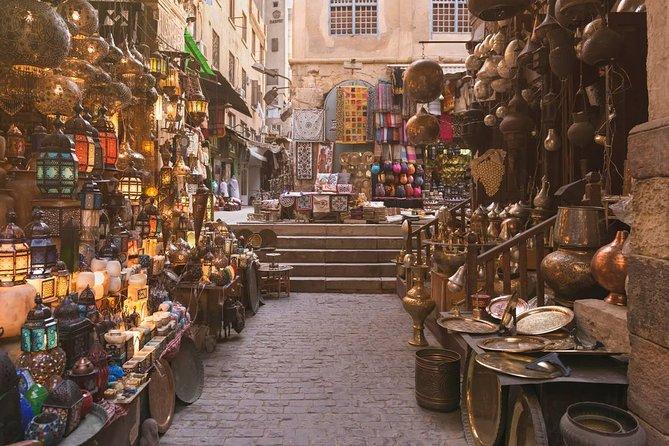 Excursión de un día al Museo Egipcio de El Cairo, El Cairo copto y el bazar de Khan el-Khalili desde Guiza, El Cairo, EGIPTO