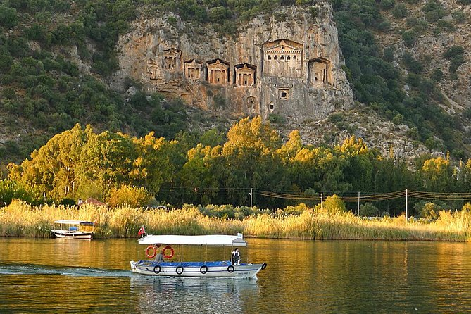 Full Day Dalyan & Turtle Beach Tour including Private Transfer to DLM Airport, Marmaris, Turkey