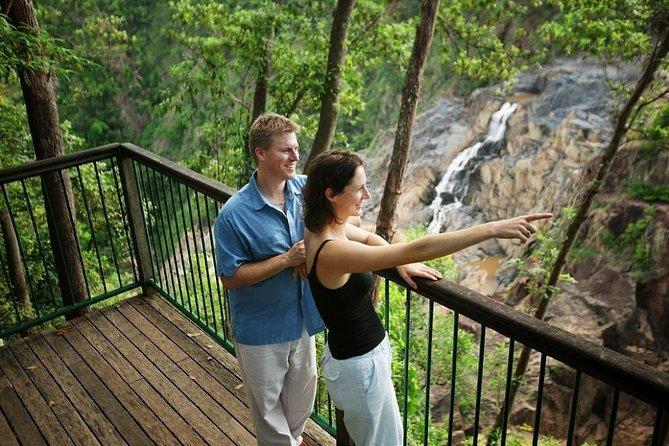 Your 2-Day Reef and Rainforest Package Combo will take you to the two extremes of Tropical North Queensland during your stay in Cairns. Spend a day discovering the Great Barrier Reef on a cruise to Green Island. Your second day sees you exploring the rainforest with a trip on the Kuranda Scenic Rail and the Skyrail.