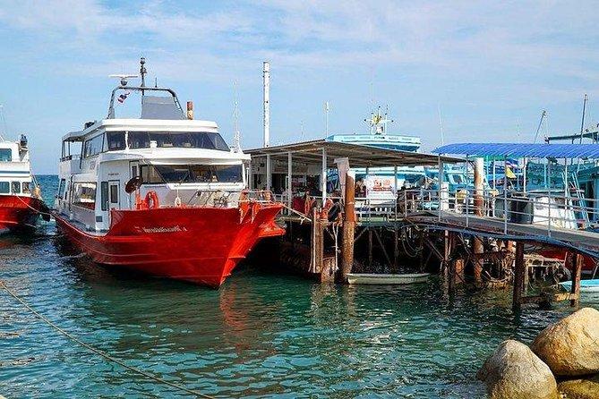 Koh Tao to Surat Thani Don Sak Pier by Seatran Discovery Ferry, Ko Tao, Tailândia