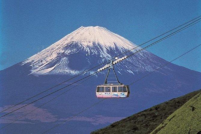Escapada de un día al Monte Fuji, Hakone y el lago Ashi desde Tokio en tren bala, Tokyo, JAPON