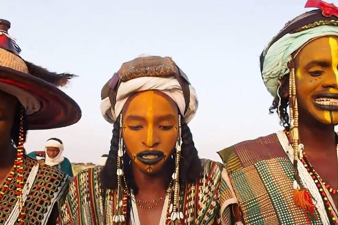 In every September nomadic clans from the Niger, region come together in the middle of the country for massive celebrations comprising of feasts, camel races, markets, and Male Beauty contests. The celebrations are termed as Gerewol festival and are the largest in the region.