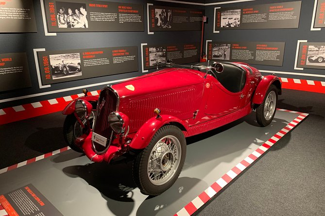 Ferrari Ducati Lamborghini Factory and Museum Day Tour from Bologna, Bolonia, ITALIA