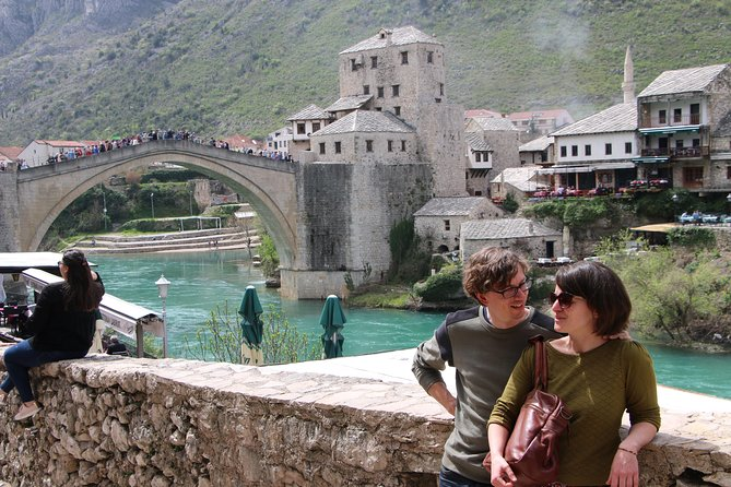 Mostar - the city famous for the Old Bridge is for sure one of most beautiful places that you will see, but it is not all that Herzegovina has to offer. Konjic, Blagaj and Pocitelj are also gems of Herzegovina, so why not see them too? Professional tour guide will make sure, that You are satisfied throughout the journey. If You forget to have Your breakfast, do not worry, as our guests are provided with traditional Bosnian pie and bottle of water. There will be also something sweet, just for You to try. <br>