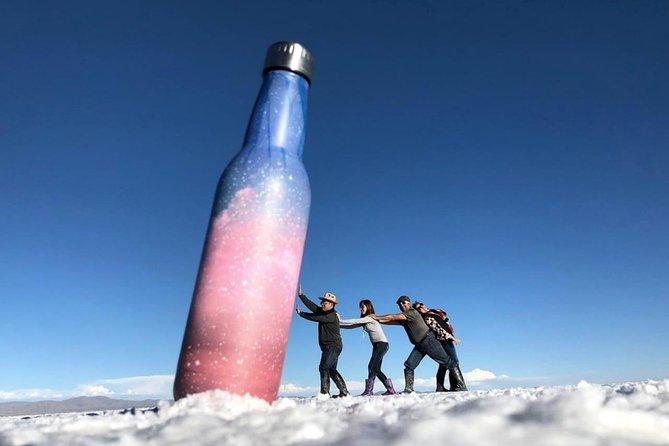 FULL DAY + SUNSET TOUR (shared program/mirror effect), Uyuni, BOLIVIA