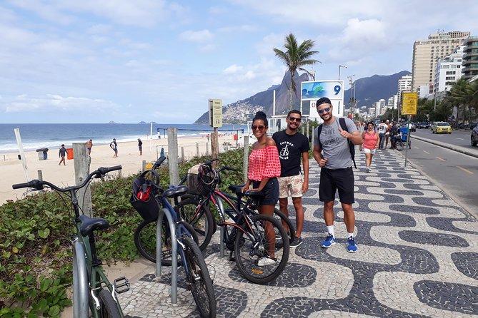 Passeio de bicicleta no Rio de Janeiro, incluindo Praia Vermelha e Arpoador, Rio de Janeiro, BRASIL