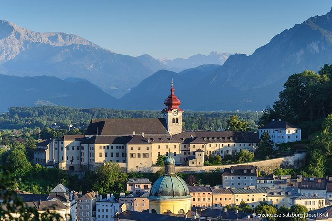 Explore the picturesque World Heritage City of Salzburg on this 4-hour tour. Relive your favorite scenes from the movie The Sound of Music as you visit some of the main filming locations in the city. After your tour, enjoy either lunch or dinner of schnitzel and noodles at a local restaurant.