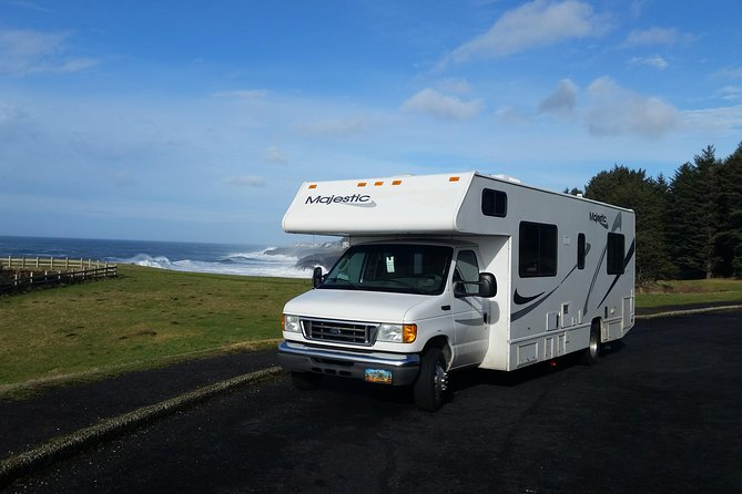 Planning an RV vacation? Save more and book faster. Fully insured trips. Safe and affordable.<br><br>Renting this RV is easy. You can also have this RV - Motorhome delivered directly to your campsite or any other place you want!<br>-----------------------------------------------------<br><br>Please note that the cost mentioned is the per day rental cost for the RV. <br><br>Please call us or e-mail us<br><br>Please mention this number when you call/email: <br>-----------------------------------------------------<br><br>Ford E450 majestic 28a class C with rear walkawround queen bed,sleeps 7 powered by triton V10 engine for power around the mountains ,this beautiful coach has a 4 kw onan generator upgraded led lighting; fridge,freezer,stove,oven,microwave,sofa,dinette,overhead bunk,roof air,dash air, 25,000 BTU furnace, stainless steel kitchen and bath sinks,32 inch smart TV. And portable washer and spin dryer included.Always well maintained rv& for a fair price.<br>