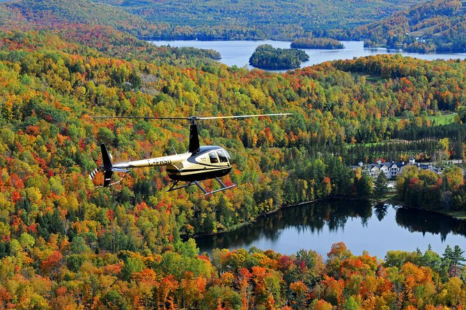 A unique way to discover the region from above with the only Mont Tremblant Helicopter flights in the Laurentians. From the exceitement of lift off, to the breathtaking scenery from above and the exhilaration of landing back on the ground, our 10 or 20 minute flights are sure to be the most thrilling part of your visit to Tremblant. All passengers sit next to a window and are given a headset so the pilot can share his knowledge of the area and answer questions.