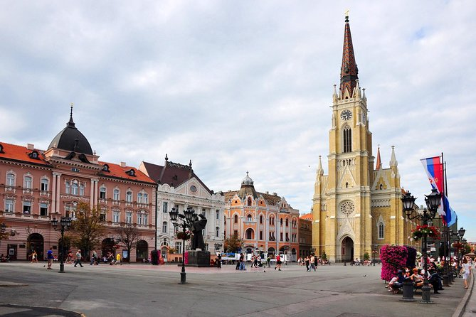 """- If you're staying in Belgrade for a few days and are looking to discover another Serbian city without having to travel too much away, this tour is ideal for you! <br>- City of Novi Sad – easy going and surrounded by fertile lowland, the Fruška Gora mountain and the Danube river, the charming capital city of Vojvodina is a pearl among the Serbian cities. Because of its cultural importance, it is also called """"Serbian Athens"""" and is home to south-east Europe's largest music festival - EXIT. As well, you will visit the most significant fortress - Petrovaradin Fortress!<br>- Sremski Karlovci is a charming small town and wine destination of Serbia where we have the chance to taste the Bermet – a dessert wine prepared with medicinal herbs, which is the trademark of Karlovci. The quality of the wine here is so high that, back in the time of the Austrian Hungarian empire, the Viennese Court released the wine growers of Karlovci from compulsory military service so that they could keep on producing."""