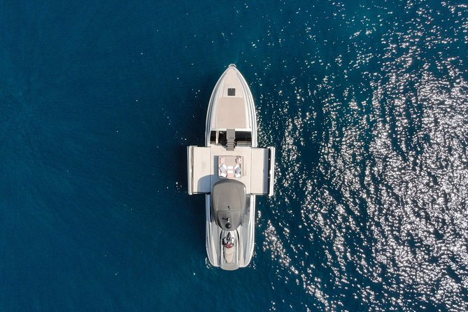 Wild Child Charters offer a fun and unique day out across the French riviera! With our Wider 42 you really stand out from the crowd. A unique expanding terrace not only gives you room to move about and dance freely, it also provides added stability at anchor. A super fast Yamaha jet ski is also available for the thrill seekers amongst you. Complimentary French rosé and water are also provided. We will work with you to plan a memorable day out according to your requests. <br><br>PLEASE NOTE PRICES BELOW<br><br>April 1 to May 31: 1,600 EUR plus fuel, including TVA<br><br>June 1 to August 31: 2,200 EUR plus fuel, including TVA<br><br>September 1 to September 30: 1,400 EUR plus fuel, including TVA - for six hours<br><br>October 1 to October 31: 800 EUR plus fuel, including TVA - for six hours<br><br>Monaco Grand Prix: 2,600 EUR plus fuel, including TVA<br><br>Monaco Yacht Show: 2,600 EUR plus fuel, including TVA<br><br>Cannes Film Festival: 2,600 EUR plus fuel, including TVA<br><br>MIPIM: 2,350 EUR plus fuel, including TVA