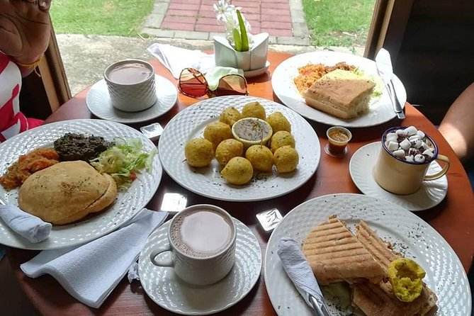 "Our Sunday to Friday Brunch at Chocolate Bar Café, is where you will enjoy a traditional cocoa or coffee tea and a choice of a four course breakfast, after this scrumptious brunch, our tour continue to the City of Port-of-Spain where you will have a first hand look at some of the historic mansions known as the ""Magnificent Seven"". Located around the Queen's Park Savannah, these mansions include Stollmeyer's Castle, which was built in 1904 and is reminiscent of the German Romantic style; the Queen's Royal College, which is a secondary school for over 1,200 students; Whitehall, which features a design inspired by the Venetian-style Palazzi and the Archbishop's House. Before we return to your hotel our tour ends at Fort George Hill looking over the city of Port of Spain. A minimum of 2 percent is required we do accommodate one person at a extra cost of 50 percent of the cost<br>"