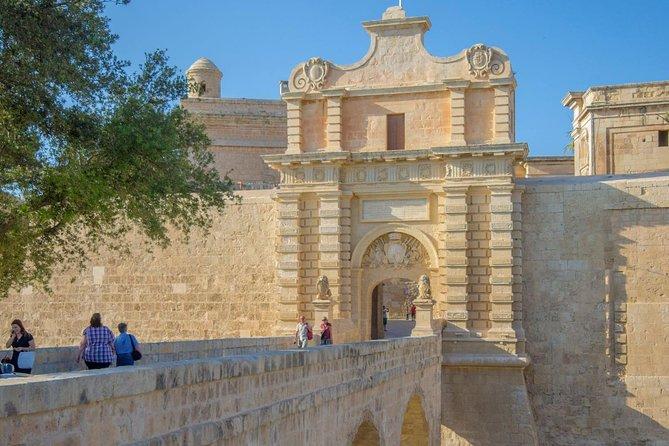 Mdina, Rabat, Dingli cliffs, San Anton gardens, Ta' Qali & Mosta guided tour, Mgarr, MALTA