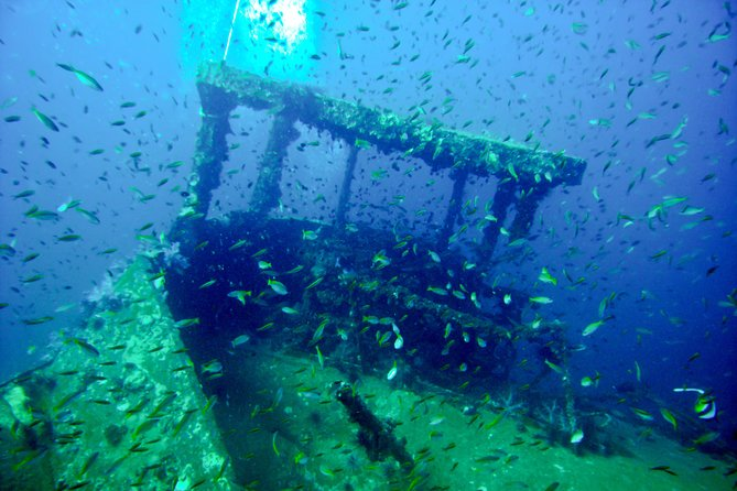 Fundiving Kled Keaow Wreck (for advanced certified divers only), Ko Phi Phi Don, Thailand