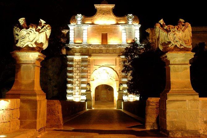 Malta under the stars guided tour of Valletta Waterfront, Rabat & Mdina, ,